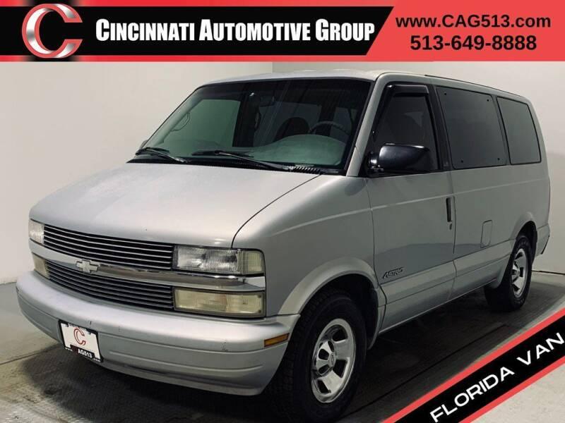 1998 Chevrolet Astro for sale at Cincinnati Automotive Group in Lebanon OH