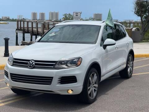 2014 Volkswagen Touareg for sale at Orlando Auto Sale in Port Orange FL