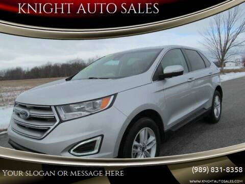 2018 Ford Edge for sale at KNIGHT AUTO SALES in Stanton MI
