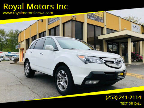 2007 Acura MDX for sale at Royal Motors Inc in Kent WA