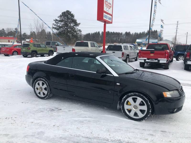 2005 Audi A4 for sale at DAVE KNAPP USED CARS in Lapeer MI