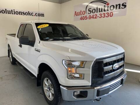 2017 Ford F-150 for sale at Auto Solutions in Warr Acres OK