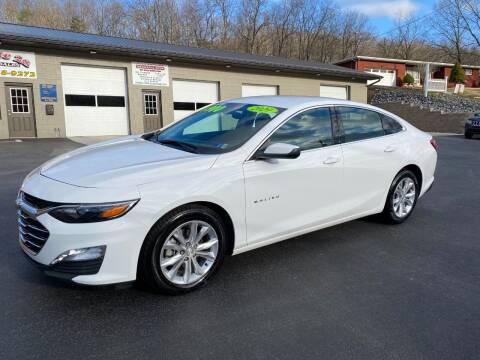2020 Chevrolet Malibu for sale at Route 28 Auto Sales in Ridgeley WV