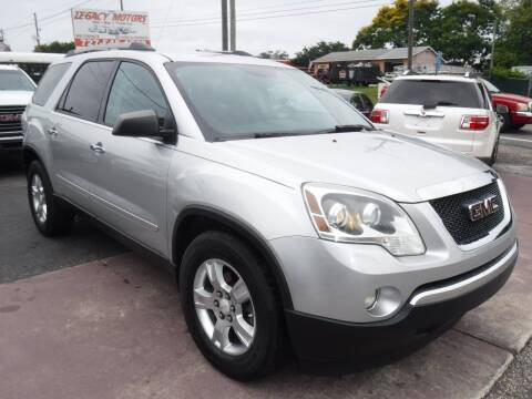 2011 GMC Acadia for sale at LEGACY MOTORS INC in New Port Richey FL