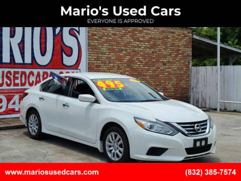 2018 Nissan Altima for sale at Mario's Used Cars - South Houston Location in South Houston TX