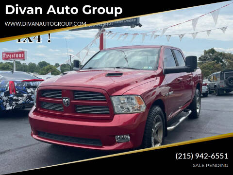 2010 Dodge Ram Pickup 1500 for sale at Divan Auto Group in Feasterville Trevose PA