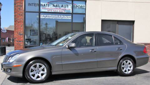 2009 Mercedes-Benz E-Class for sale at INTERNATIONAL AUTOSPORT INC in Pompton Lakes NJ