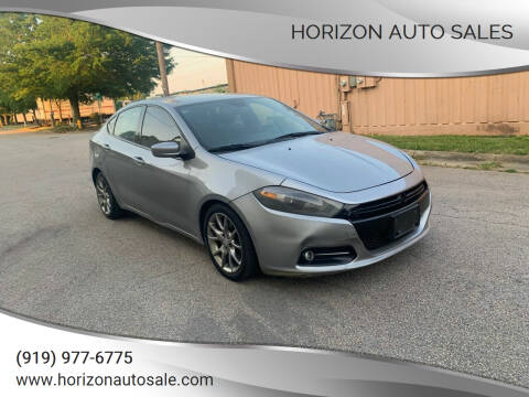 2015 Dodge Dart for sale at Horizon Auto Sales in Raleigh NC