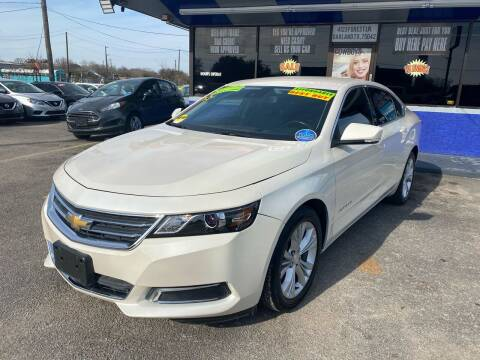 2014 Chevrolet Impala for sale at Cow Boys Auto Sales LLC in Garland TX
