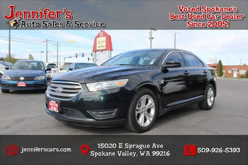 2014 Ford Taurus for sale at Jennifer's Auto Sales in Spokane Valley WA