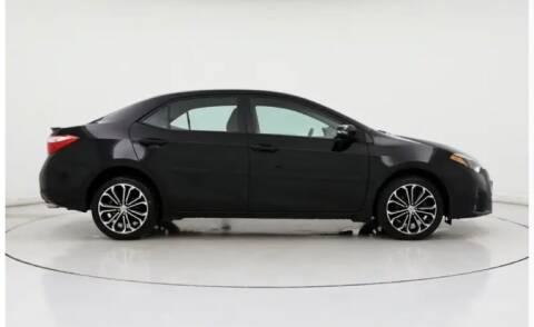 2016 Toyota Corolla for sale at Dreamline Motors in Coolidge AZ