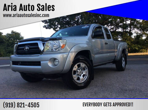2007 Toyota Tacoma for sale at ARIA  AUTO  SALES in Raleigh NC