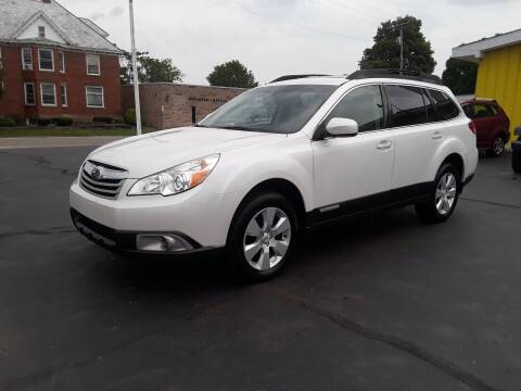 2011 Subaru Outback for sale at Sarchione INC in Alliance OH