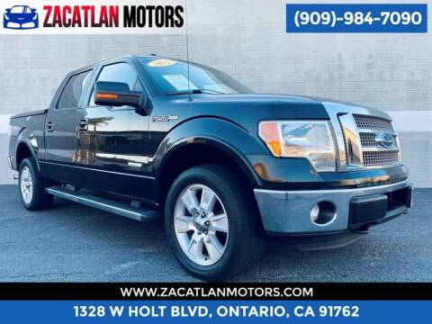 2012 Ford F-150 for sale at Ontario Auto Square in Ontario CA