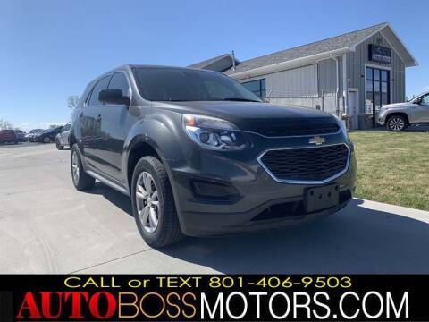 2017 Chevrolet Equinox for sale at Auto Boss in Woodscross UT