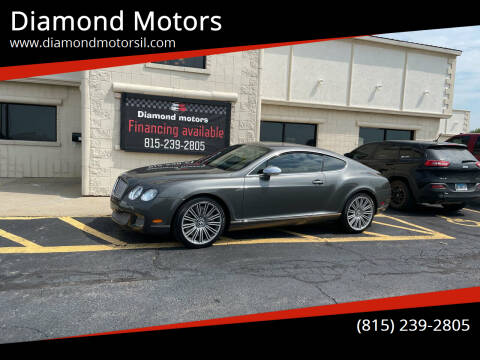 2008 Bentley Continental for sale at Diamond Motors in Pecatonica IL