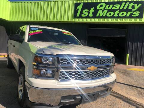 2014 Chevrolet Silverado 1500 for sale at 1st Quality Motors LLC in Gallup NM