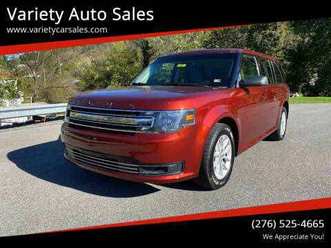 2014 Ford Flex for sale at Variety Auto Sales in Abingdon VA
