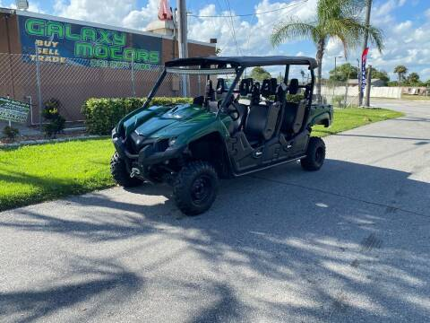 2019 Yamaha Viking 700 for sale at Galaxy Motors Inc in Melbourne FL