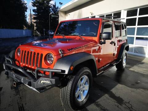 2009 Jeep Wrangler Unlimited for sale at Legacy Auto Sales LLC in Seattle WA