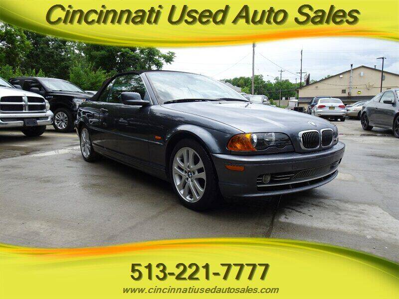 2001 BMW 3 Series for sale at Cincinnati Used Auto Sales in Cincinnati OH