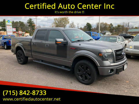 2013 Ford F-150 for sale at Certified Auto Center Inc in Wausau WI