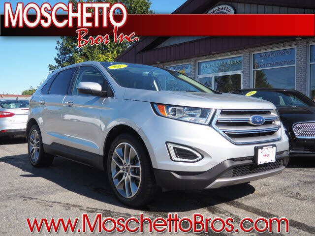 2017 Ford Edge for sale at Moschetto Bros. Inc in Methuen MA