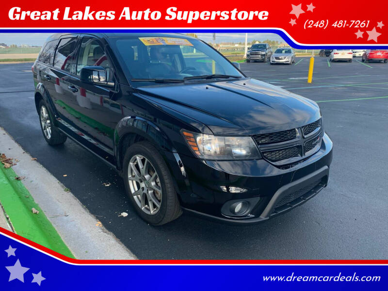 2015 Dodge Journey for sale at Great Lakes Auto Superstore in Pontiac MI