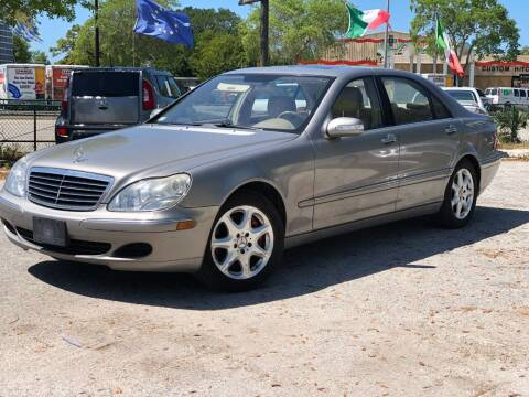 2005 Mercedes-Benz S-Class for sale at Pro Cars Of Sarasota Inc in Sarasota FL