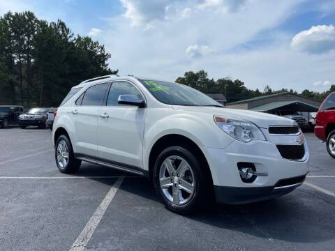 2015 Chevrolet Equinox for sale at Specialty Ridez in Pendleton SC