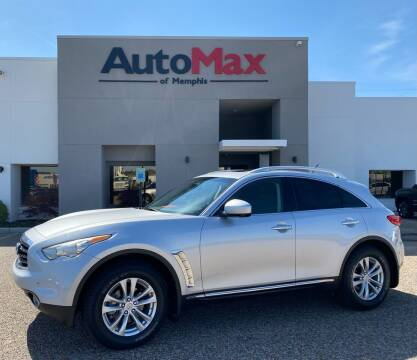2013 Infiniti FX37 for sale at AutoMax of Memphis in Memphis TN