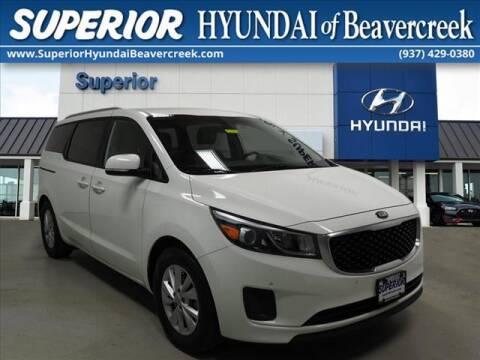 2017 Kia Sedona for sale at Superior Hyundai of Beaver Creek in Beavercreek OH