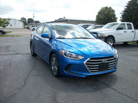 2017 Hyundai Elantra for sale at USED CAR FACTORY in Janesville WI