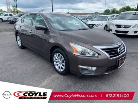 2014 Nissan Altima for sale at COYLE GM - COYLE NISSAN - New Inventory in Clarksville IN