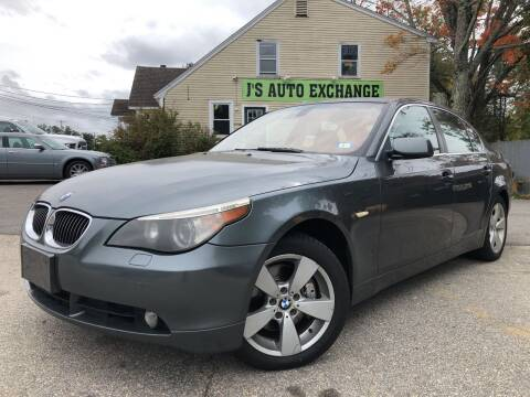 2006 BMW 5 Series for sale at J's Auto Exchange in Derry NH
