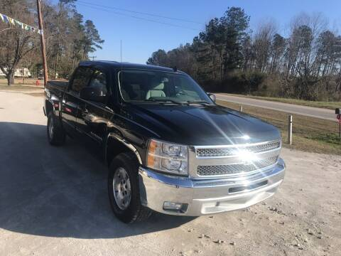 2012 Chevrolet Silverado 1500 for sale at Southtown Auto Sales in Whiteville NC