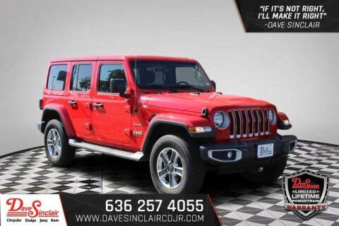 2021 Jeep Wrangler Unlimited for sale at Dave Sinclair Chrysler Dodge Jeep Ram in Pacific MO
