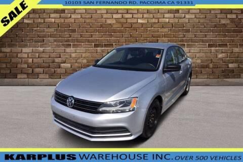 2015 Volkswagen Jetta for sale at Karplus Warehouse in Pacoima CA