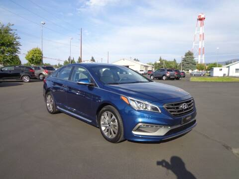 2015 Hyundai Sonata for sale at New Deal Used Cars in Spokane Valley WA