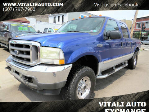 2003 Ford F-250 Super Duty for sale at VITALI AUTO EXCHANGE in Johnson City NY