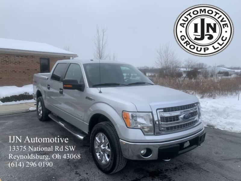 2013 Ford F-150 for sale at IJN Automotive Group LLC in Reynoldsburg OH