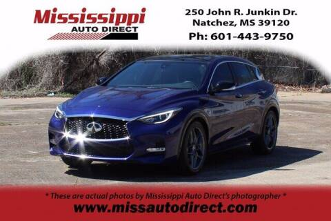 2017 Infiniti QX30 for sale at Auto Group South - Mississippi Auto Direct in Natchez MS