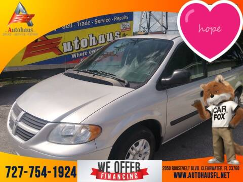 2005 Dodge Grand Caravan for sale at Das Autohaus Quality Used Cars in Clearwater FL