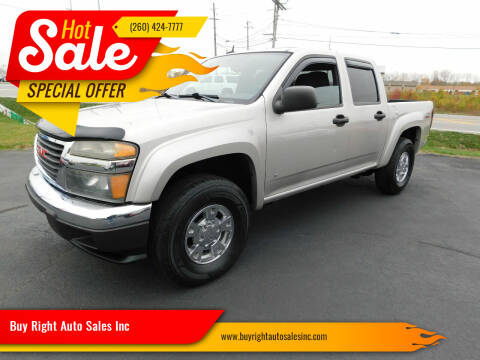 2006 GMC Canyon for sale at Buy Right Auto Sales Inc in Fort Wayne IN