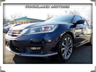 2015 Honda Accord for sale at Rockland Automall - Rockland Motors in West Nyack NY
