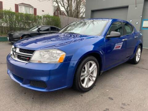 2012 Dodge Avenger for sale at Fournier Auto and Truck Sales in Rehoboth MA