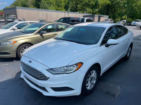 2017 Ford Fusion for sale at Car Guys in Lenoir NC
