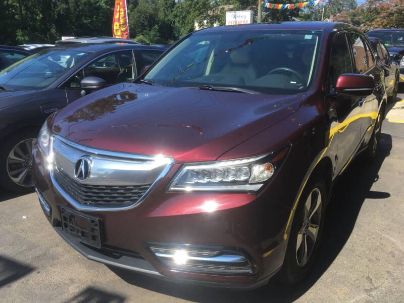 2016 Acura MDX for sale at MELILLO MOTORS INC in North Haven CT