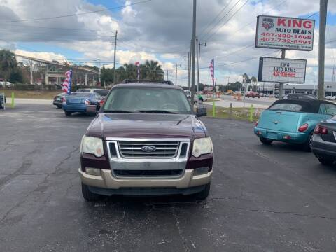2007 Ford Explorer for sale at King Auto Deals in Longwood FL