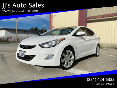 2012 Hyundai Elantra for sale at JJ's Auto Sales in Salinas CA